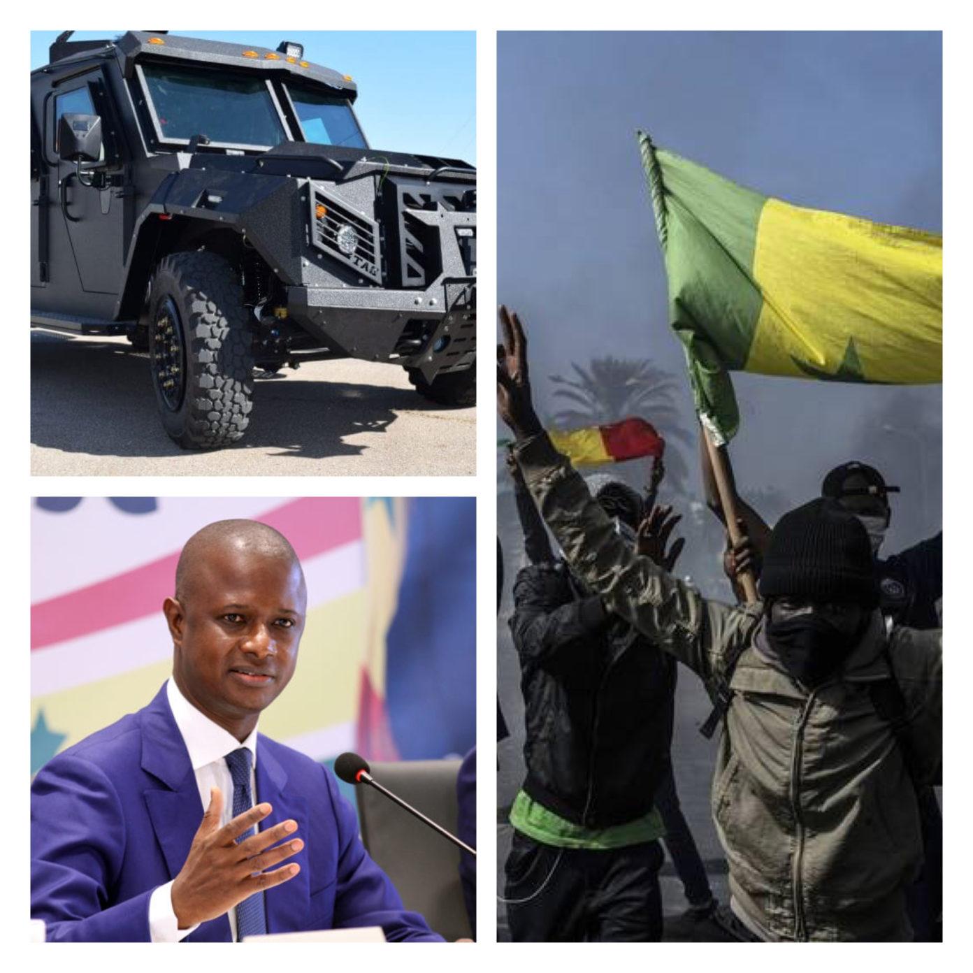 Sénégal : Après le recrutement de 3000 Auxiliaires, le ministère de l'Intérieur passe commande de plusieurs blindés (APC)