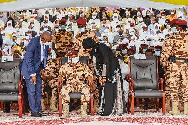 Obsèques d'Idriss  Déby: Mes Aïssata Tall Sall et Sidiki Kaba au Tchad, au nom du Président Macky Sall