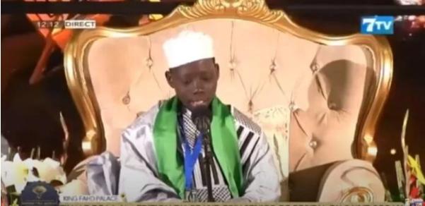 Vainqueur du récital du Coran 2021: Mohamed Mahy Touré, récompensé d'un billet pour le pélerinage à Fès et de 500 000 FCfa
