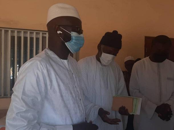 Visite de courtoisie à Tivaouane: El Malick Ndiaye du Pastef reçu par Serigne Mbaye Sy Abdou