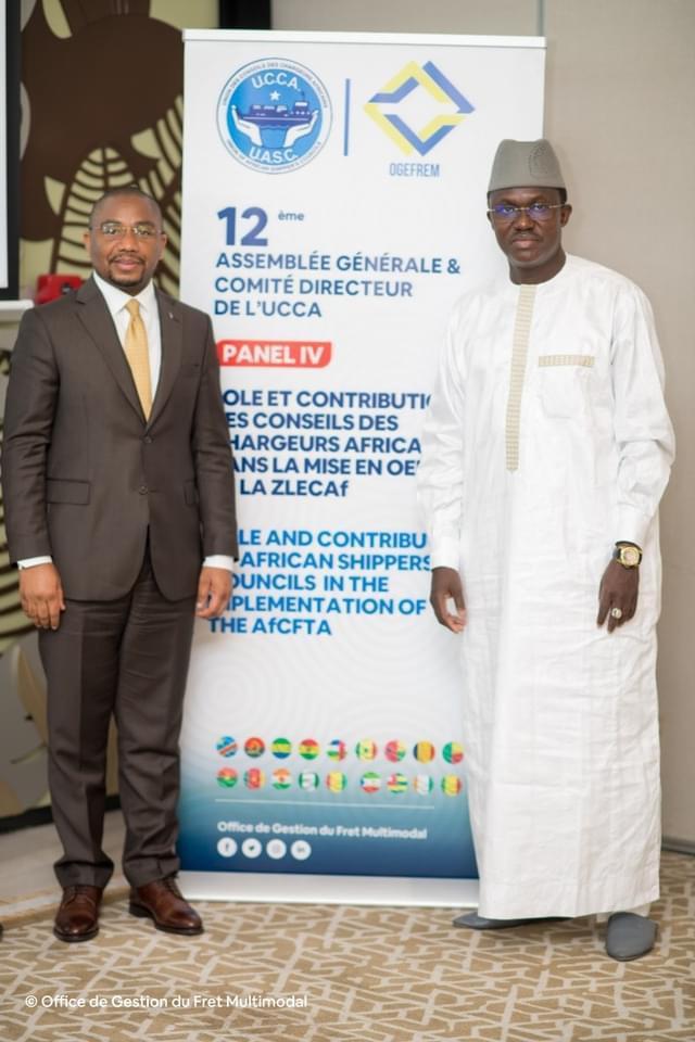 ASSEMBLÉE GÉNÉRALE UCCA , Mamadou Dione DG COSEC élu vice Président
