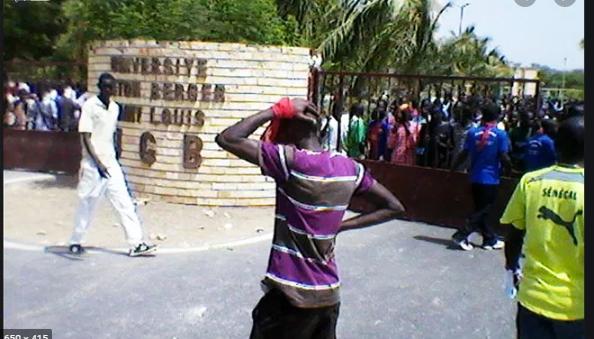 UGB : 72 heures de grève décretées