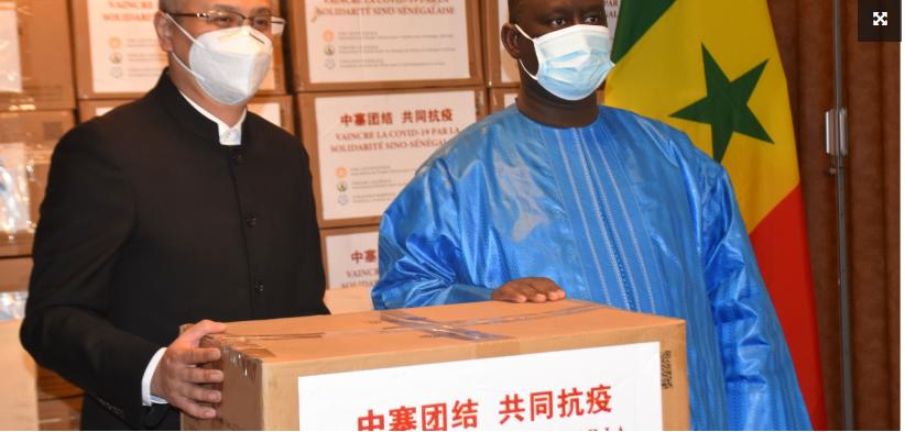 Vaccin anti Covid-19: La Chine va offrir 300.000 nouvelles doses au Sénégal