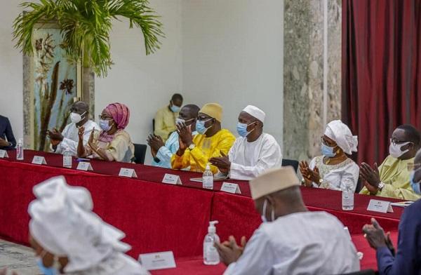 Remise du rapport 2017-2019 du HCDS: De la nécessité de faire du dialogue, un outil de promotion de l'équité sociale et territoriale