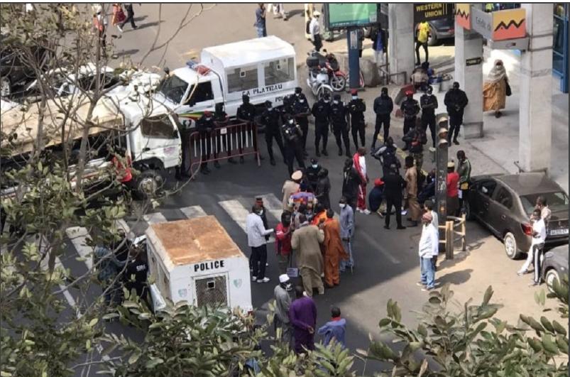 Marche vers le Palais: Les anciens soldats mutilés de guerre veulent rencontrer Macky Sall