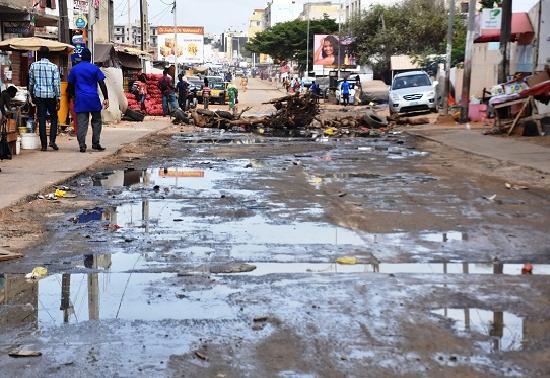 Pikine Tally Bou Bess face à la menace des eaux usées: Les populations dénoncent leur calvaire