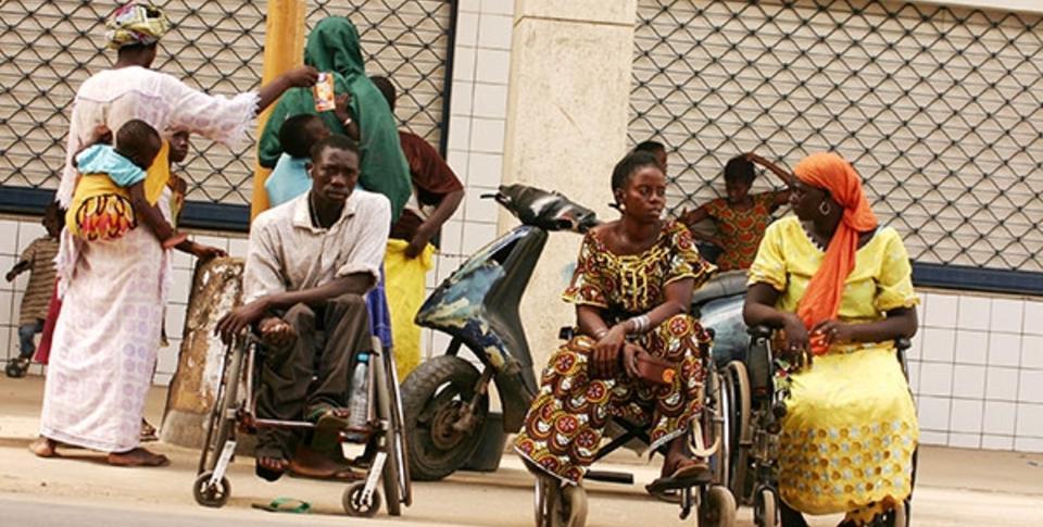 Guinaw rails: Colère des personnes vivant avec un handicap