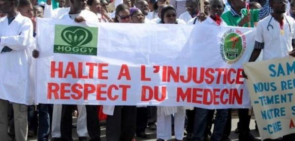 Hôpital de Linguère: Les Internes des hôpitaux soutiennent la grève du Sames