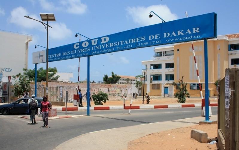Les entrées du campus pédagogique de l'Ucad filtrées