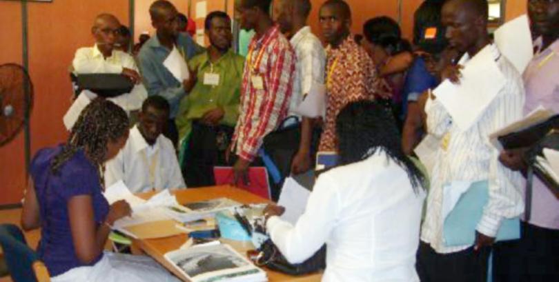 Emploi des Jeunes:  Le lancement effectif des opérations de recrutement, exposé