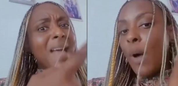 "Halima Gadji au bord de l'hystérie: ""Djiguéne bou am Leu...ak Goor yalla bou nieuw ma Do..."""