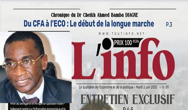Un nouveau patron de presse au Sénégal: Mamadou Racine Sy rachète le journal « L'info » de Thierno Talla