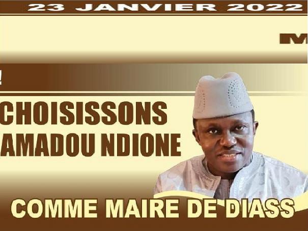 A.G. en vue des Locales :  la déclaration de la coalition unie autour de la candidature de  Mamadou Ndione pour conquête la Mairie de Diass