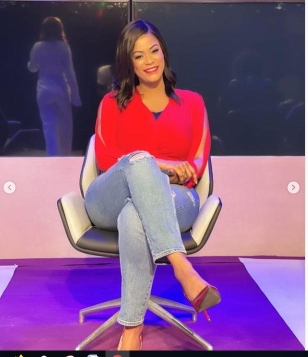 """La ravissante animatrice de la Tfm et actrice dans la série """"Mœurs"""", Samira Coulibaly séduit encore ses followers (Photos)"""