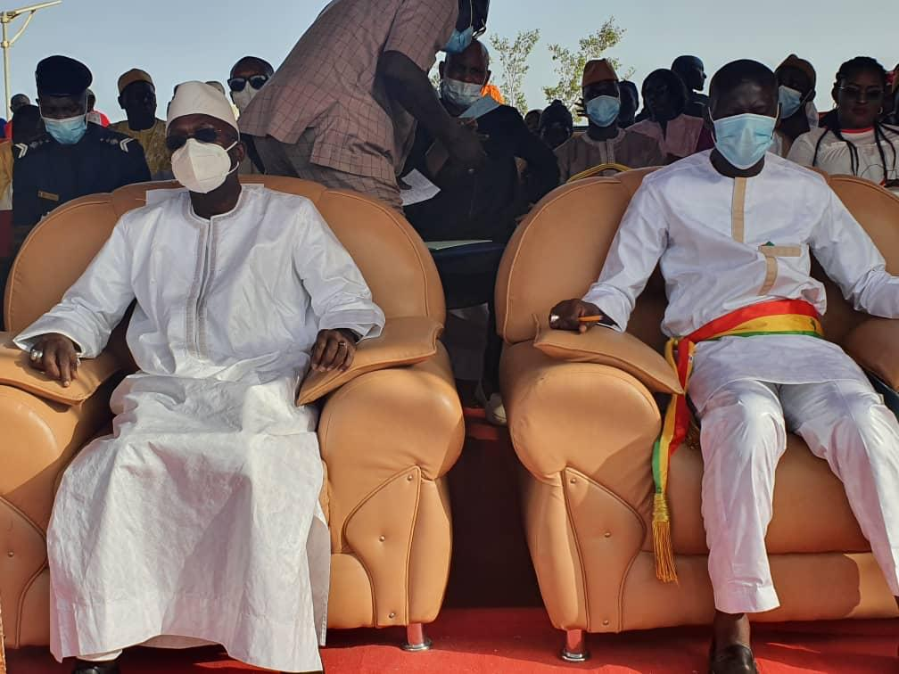 Ouverture du Centre d'Etat civil de Mékhé: Le maire Bara Ndiaye adoubé par Méouane pour un deuxième mandat