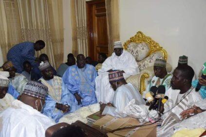 PHOTOS: Rencontre Cheikh Mahdy Ibrahima Niass et Serigne