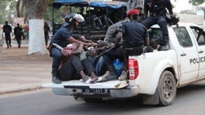 Opération de sécurisation: 300 interpellés, deux pour meurtre et flagrant délit de vol