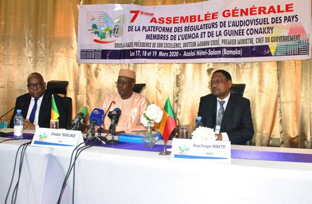 Régulation de l'audiovisuel: Dakar accueille la 8e Assemblée générale de la Plateforme, l'UEMOA et la Guinée