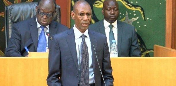 """Abdoulaye Daouda Diallo: """"L'avion présidentiel a coûté 57.447.235.356 FCfa. L'acquisition a été budgétisée dans les LFI de  2019, 2020 et 2021 """""""