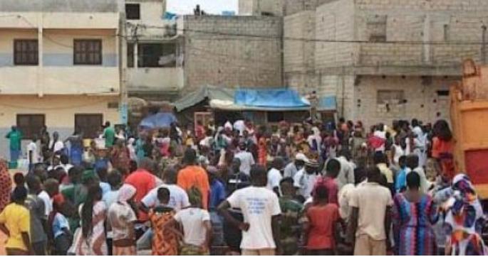 Vente de leurs aires de jeu: Les habitants de Keur Mbaye Fall dans la rue