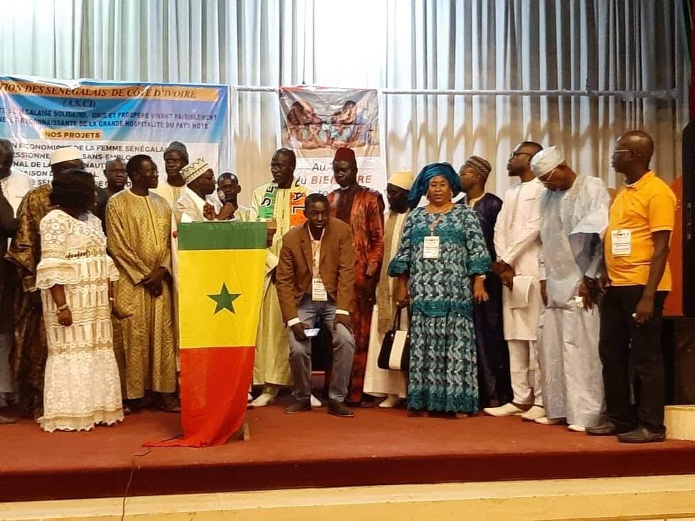 Assistance: L'Association des Sénégalais en Côte d'Ivoire prend en charge Djiby Guèye qui rentre ce dimanche au Sénégal