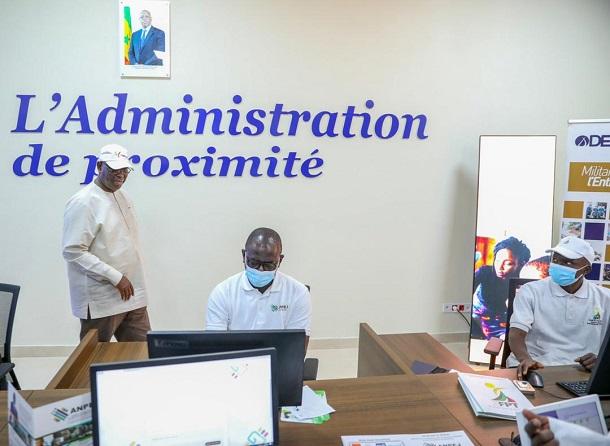 Pôle Emploi et Entrepreneuriat des jeunes et des femmes de Kaffrine: Le Président Macky Sall a procédé à son inauguration
