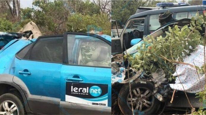 Drame sur l'axe Tambacounda-Kédougou: Le groupe Leral perd trois de ses proches, deux blessés graves enregistrés