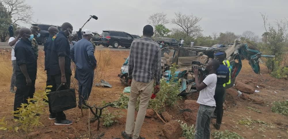 Drame de Kédougou: Macky Sall sur les lieux avec Me Sidiki Kaba