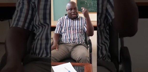 Homosexualité / Après le sujet proposé: Le professeur d'Anglais, Ousmane Baldé, relevé de ses fonctions
