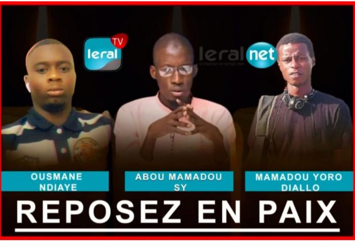 Levée de corps des trois agents de Leral: Une forte présence des autorités notée hier