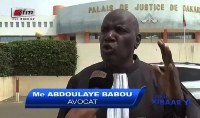 Me Abdoulaye Babou : « Tous les dossiers de Boy Djiné perdus dans les tribunaux»