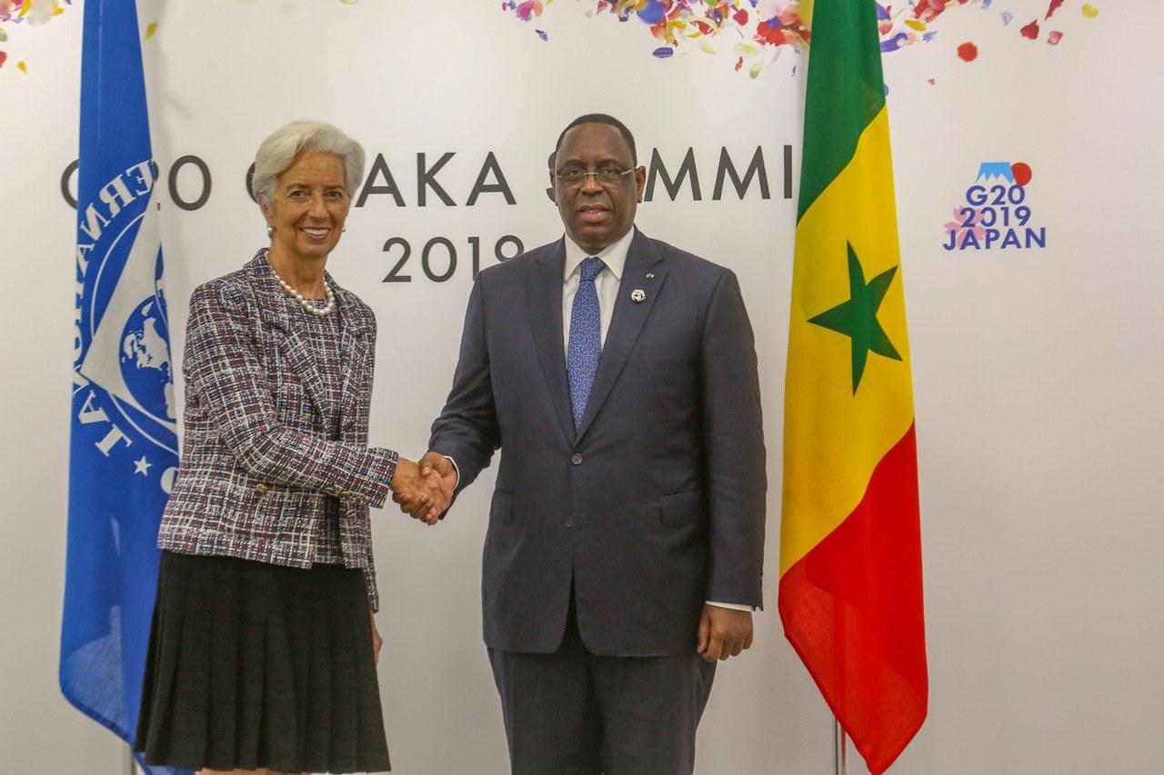 Le FMI accorde 350 milliards FCfa au Sénégal