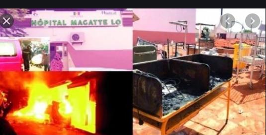 Incendie de l'hôpital Magatte Lô: Dr. Abdou Sarr, Dr. Fatou Sy et Khady Seck, sous contrôle judiciaire