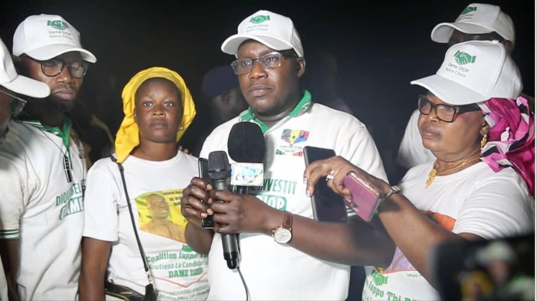 Diourbel: Le Directeur de l'Emploi, Pape Modou Fall, investit le Ministre Dame Diop