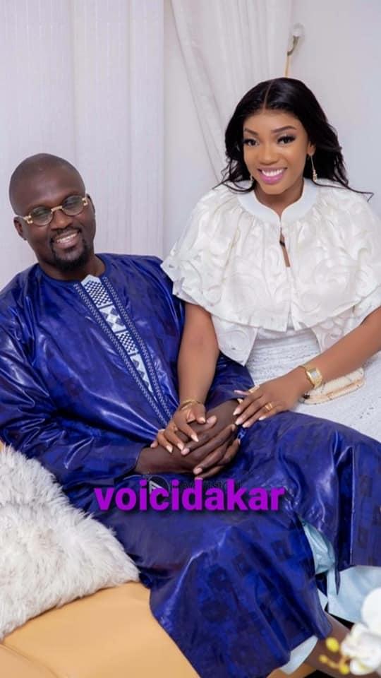 L'ex-époux de Viviane, Tapha, s'affiche très joyeux avec sa nouvelle épouse (Photos)
