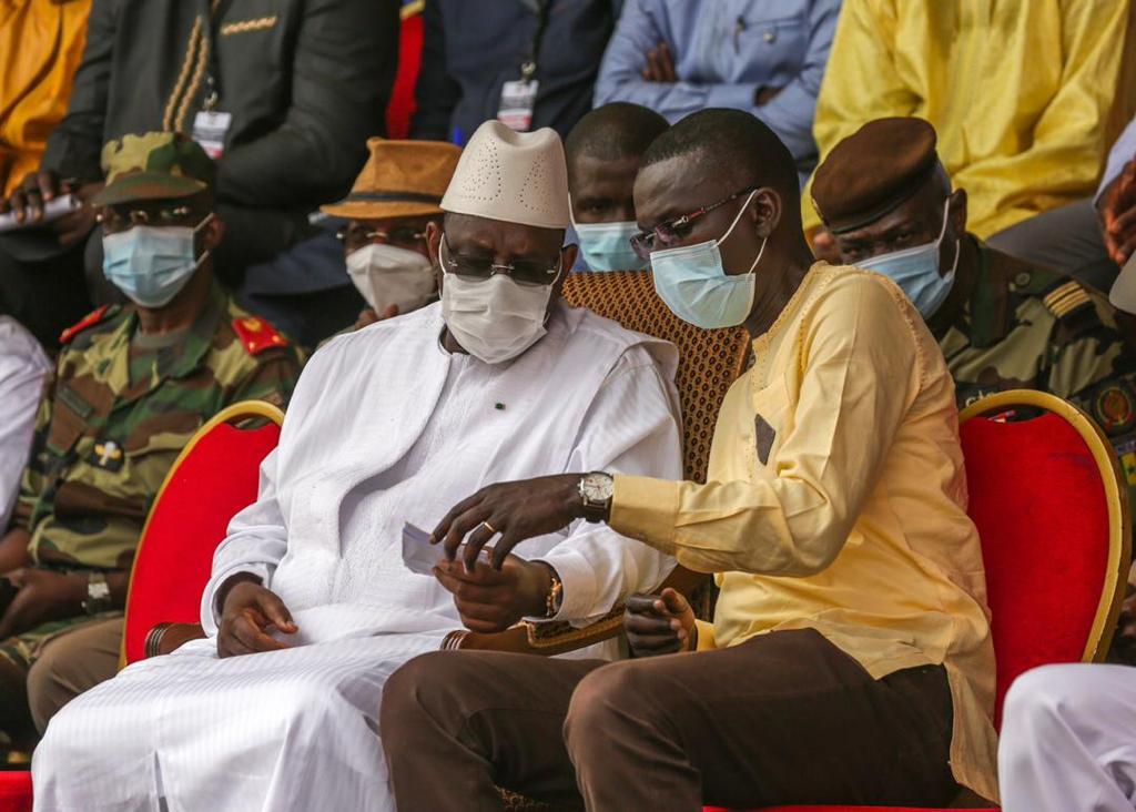 Aéré Lao: Deuxième inauguration du ministre Dame Diop avec le Président Macky Sall
