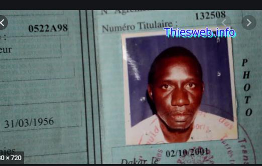 Thiès: Le corps du chauffeur de taxi porté disparu depuis presque 2 mois, découvert dans des caniveaux