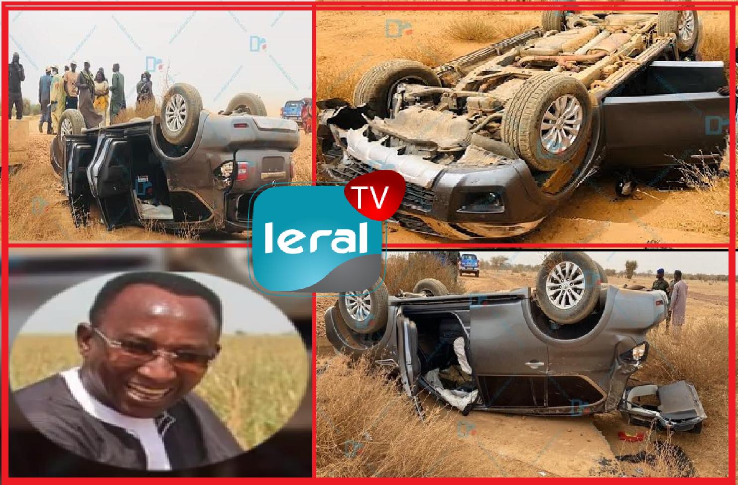 """Urgent / Après son accident, Mbaye Pèkh parle à Leral et rassure: """"Ndogalou yalla la..."""""""