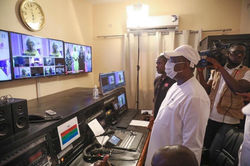 Matam: Macky Sall lance officiellement les activités de la nouvelle chaîne RTS 5