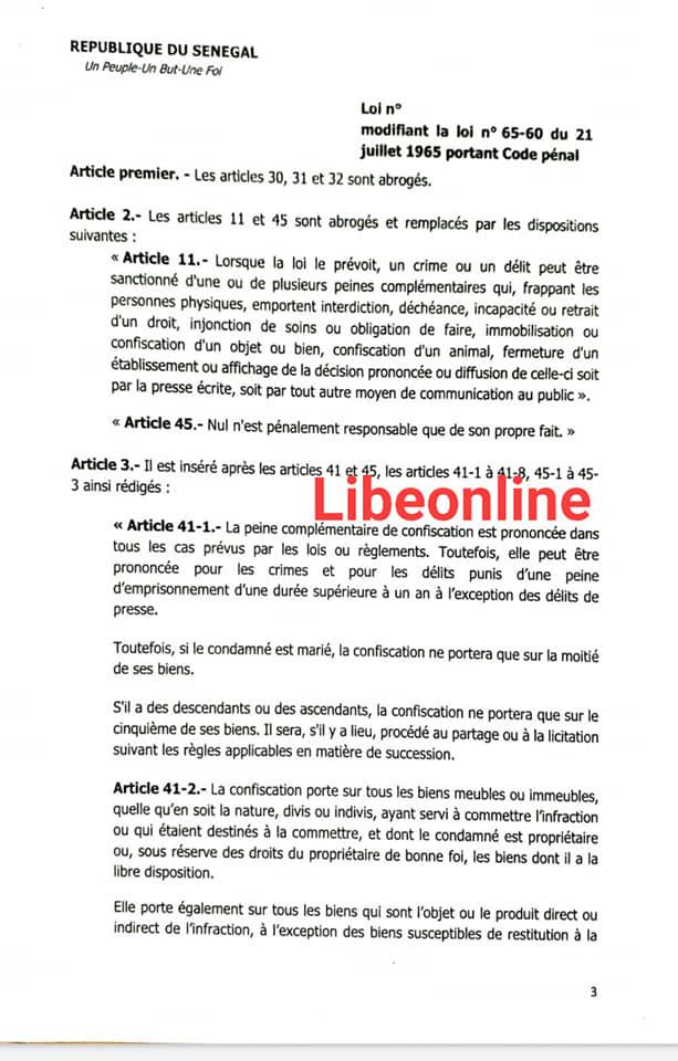 Alerte de Barthélémy Dias sur les deux projets de loi à voter demain, en procédure d'urgence