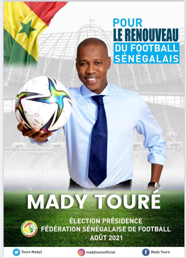 Candidat à la FSF: Mady Touré veut faire du Sénégal, un Hub infrastructurel et compétitif