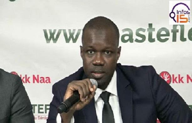 Ousmane Sonko: « Macky Sall cherche à mater les opposants »