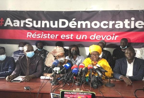 Plusieurs de ses membres arrêtés: M2D condamne fermement « leur kidnapping  et exige leur libération immédiate ! »