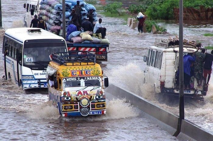 Hivernage 2021: Premières pluies à Dakar, entre déboires, inquiétudes et flambées