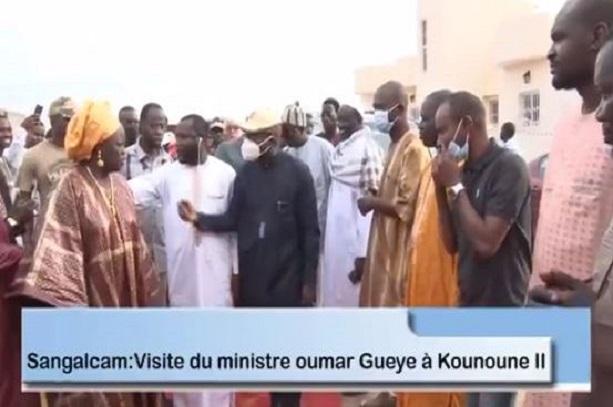 Kounoune 2: Les Populations déroulent  le tapis rouge au Maire Oumar Guèye