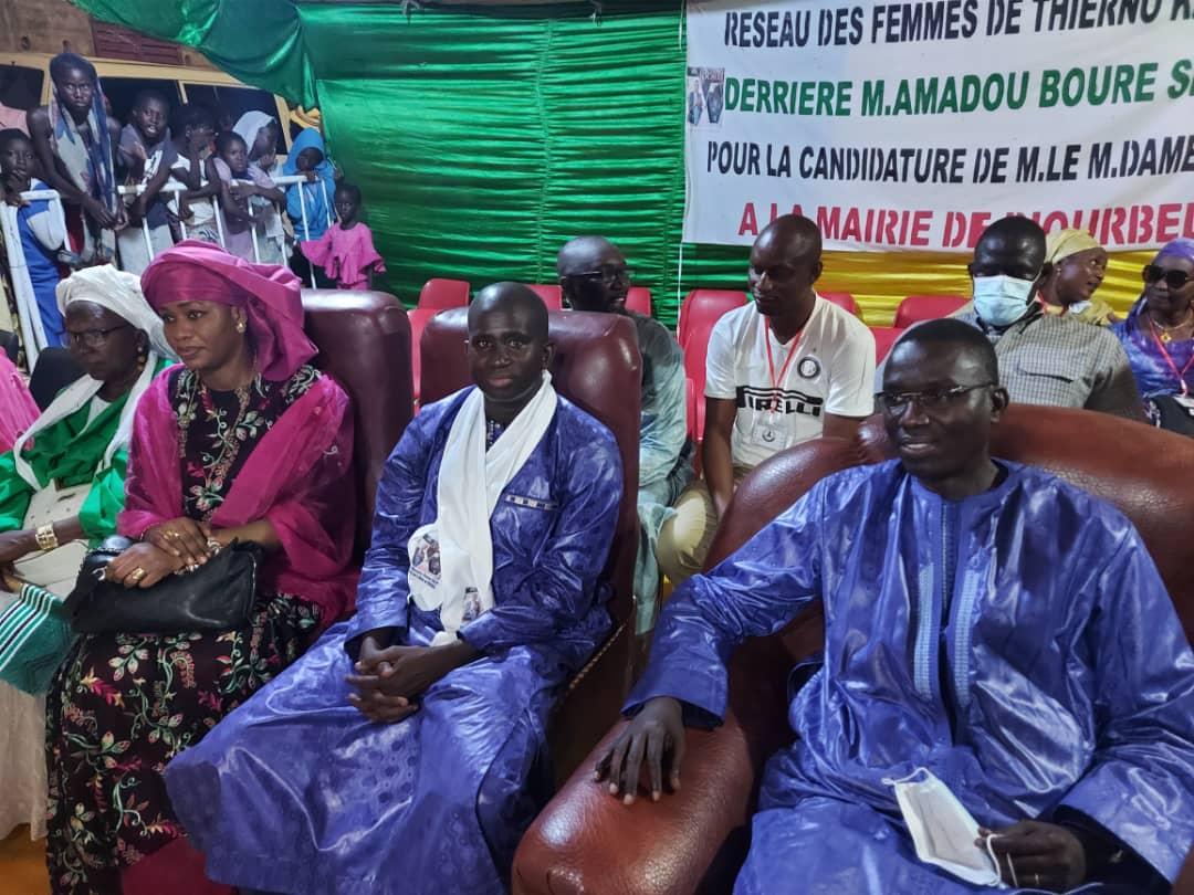 Locales 2022: Moustapha Gueye et le Dr Ahmed Niang scellent l'unité derrière Dame Diop