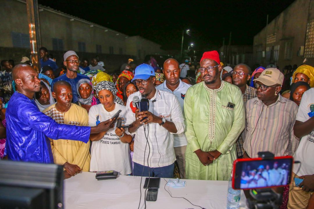Tambacounda: Mamadou Kassé renoue avec le forum des quartiers