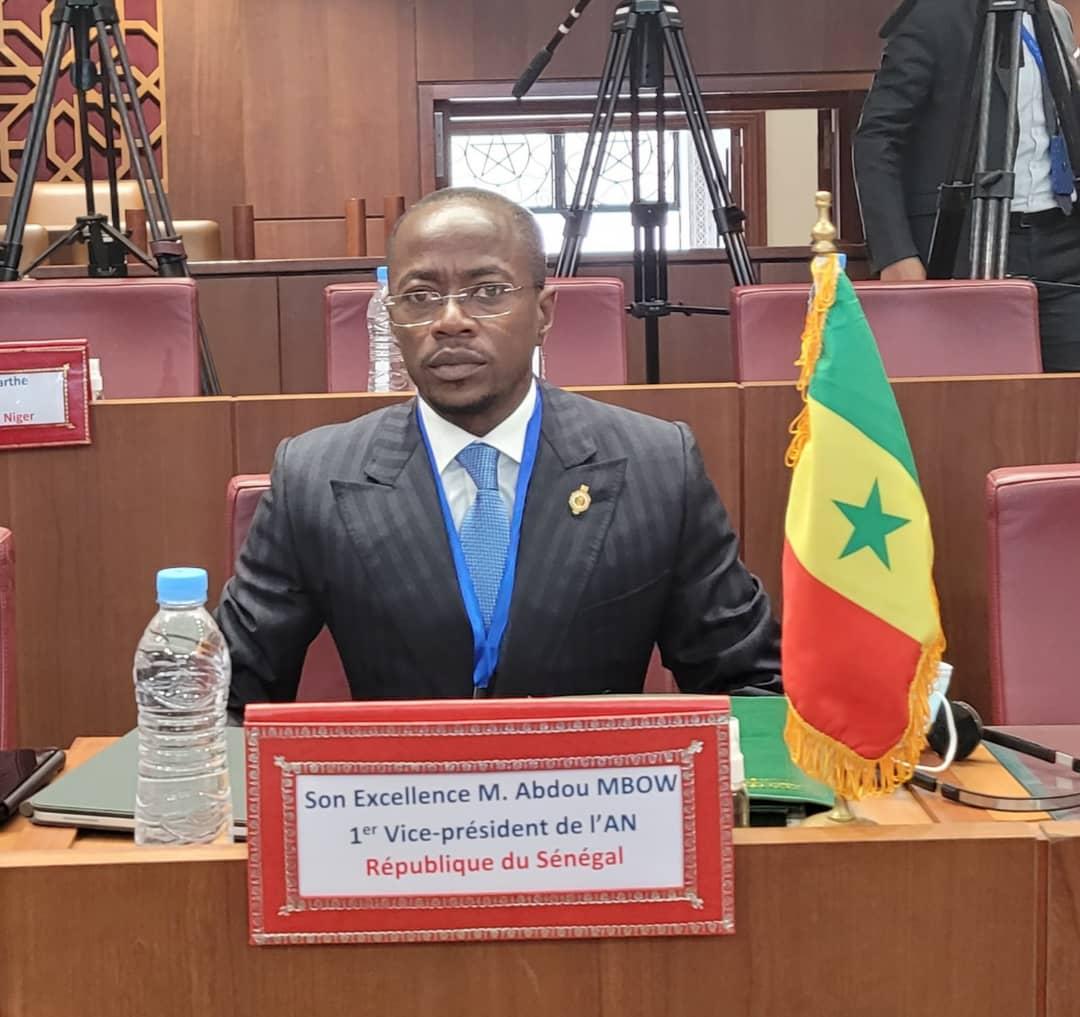 Concertation parlementaire: Abdou Mbow à Rabat pour redorer le blason du Parlement africain