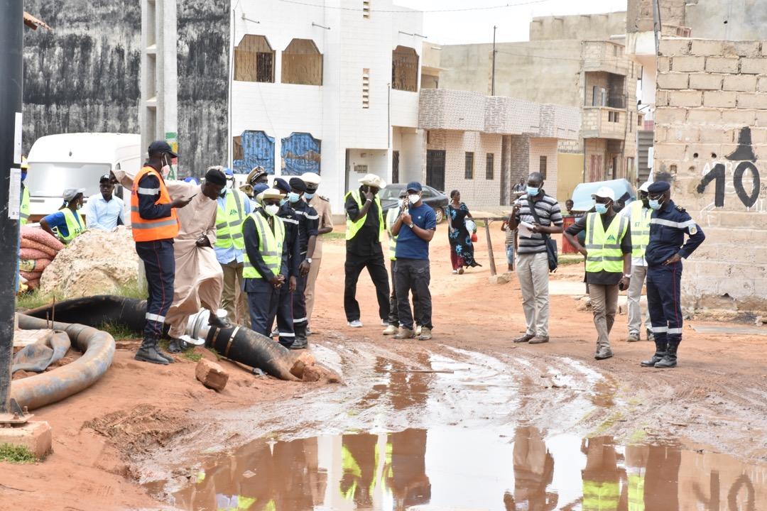 Lutte contre les inondations: L'État déploie de gros moyens à Keur Massar
