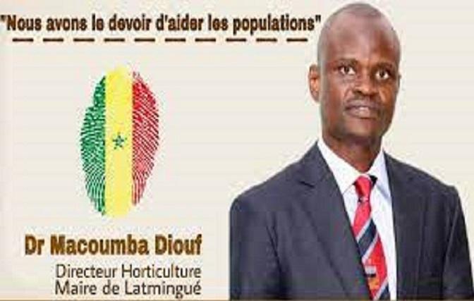 Macoumba Diouf, Maire de Latmingué: Les populations doivent sanctionner les «mannequins» politiques